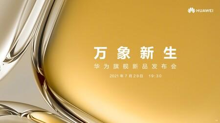 Huawei P50 Fecha Presentacion Oficial 29 Julio