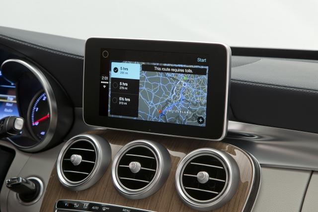 Foto de CarPlay Mercedes Benz Clase C (7/26)