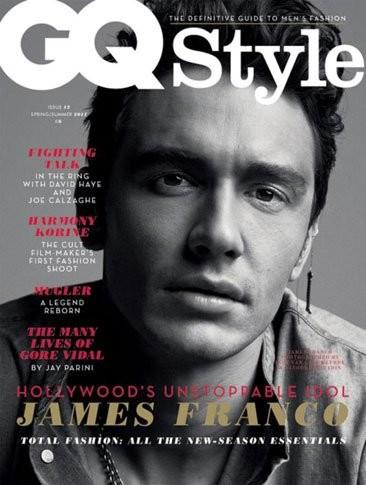 James Franco acapara portadas: 'GQ Style' y 'Vogue Hommes'
