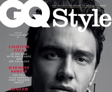 James Franco acapara portadas: 'GQ Style' y 'Vogue Hommes'