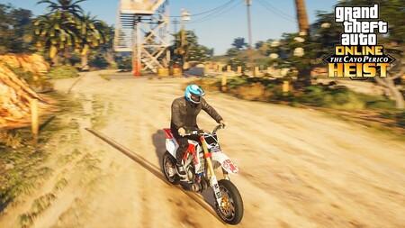 GTA Online: mapa de Cayo Perico con la localización de todas las motos