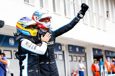 Alonso Ocon Hungria F1 2021