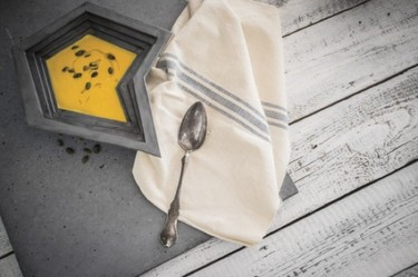 Lo último para el comedor, las mejores recetas servidas sobre cemento