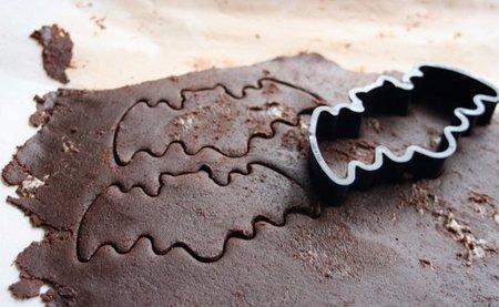 Molde de galletas con forma de murciélago