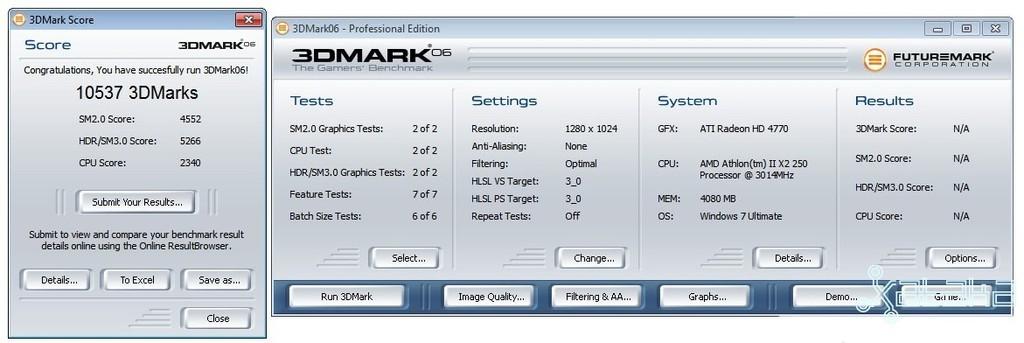 AMD Athlon II 550, análisis