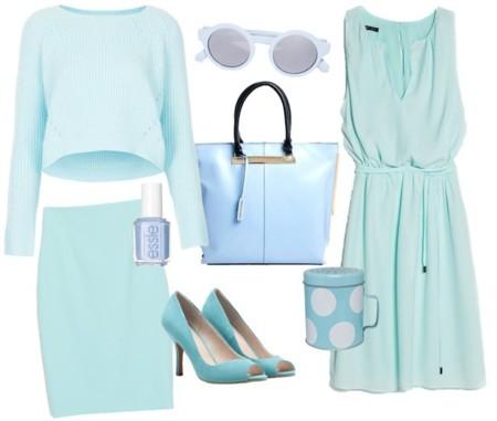 outfit azul cielo
