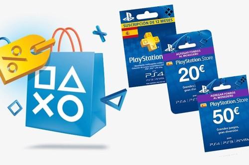 6 opciones más de ahorro en los Days of Play de Sony, con las tarjetas prepago para PSN y PS Plus con eBay y su cupón PILLALO10