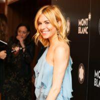 El vestido azul de Sienna Miller que necesito para Nochevieja