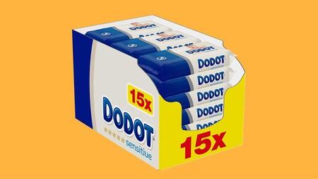 Con este precio no nos extraña que las toallitas para bebé Dodot Sensitive sean las más vendidas de Amazon: por 0,02 euros/unidad