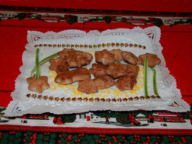 Galletas navideñas con leche sin lactosa