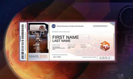 Envía tu nombre a Marte con la misión Mars 2020 de la NASA