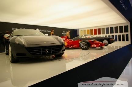 Ferrari en el salón de Ginebra