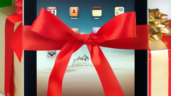 iPad navidad
