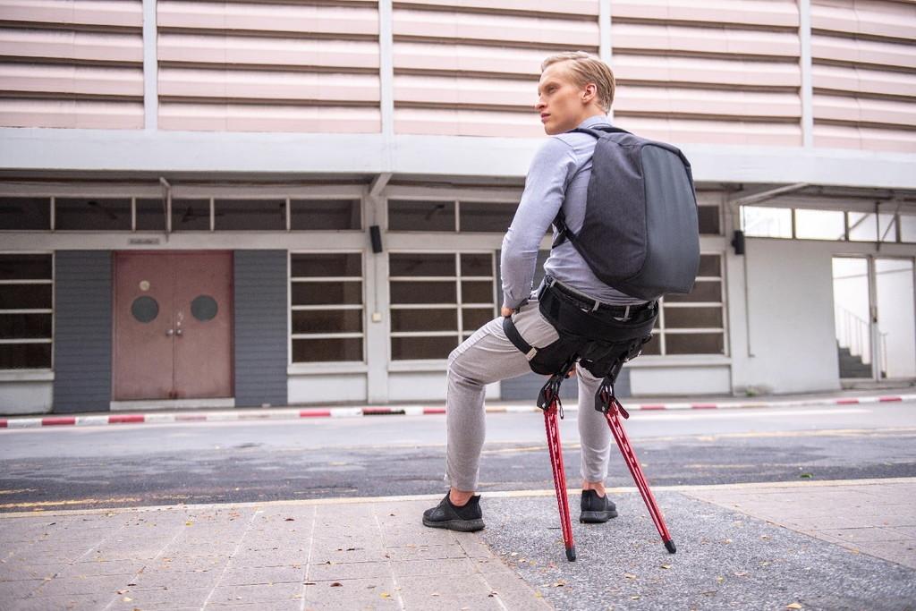 'LEX': la silla biónica para quienes quieran sentarse y tener apoyo en cualquier parte