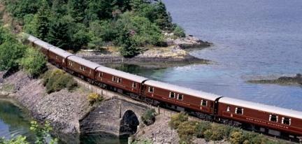 Vacaciones de lujo en tren: Royal Scotsman