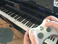 Controla tu piano a través de la XBox 360