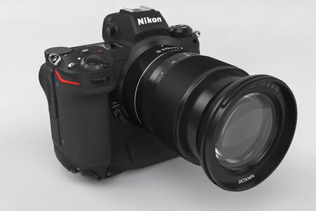 Nikon Z9 Mirrorlress Camera Mockup