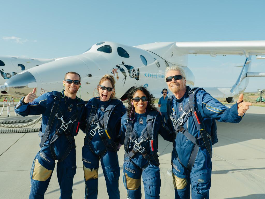 Virgin Galactic lleva a Richard Branson al espacio con éxito: así fue el vuelo del VSS Unity