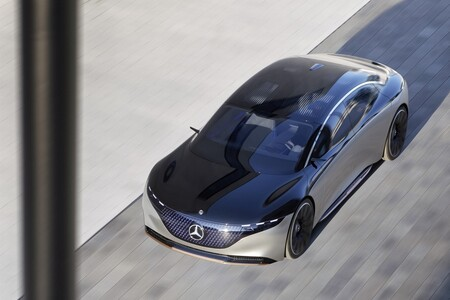 Mercedes-Benz EQS Vision Concept 2019