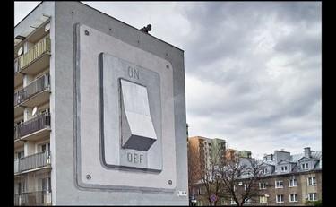 Festival de Street Art de Katowice, apaga la luz por favor