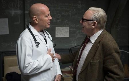 Bruce Willis y Anthony Hopkins en