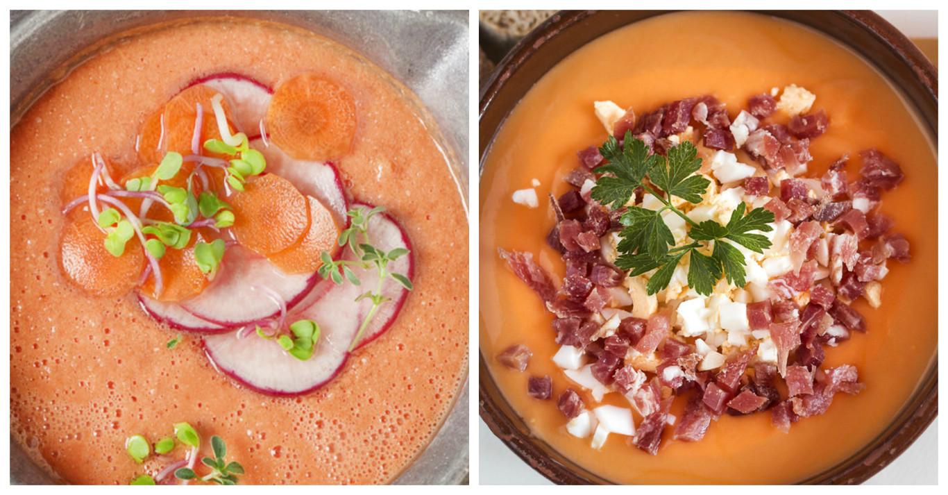 Cómo conseguir un gazpacho y un salmorejo fino, emulsionado y cremoso como el de los restaurantes (sin...