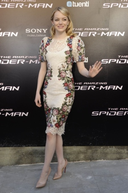 Emma Stone Madrid Spider-Man