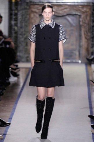 Yves Saint Laurent Otoño-Invierno 2011/2012 en la Semana de la Moda de París: los clásicos reformados