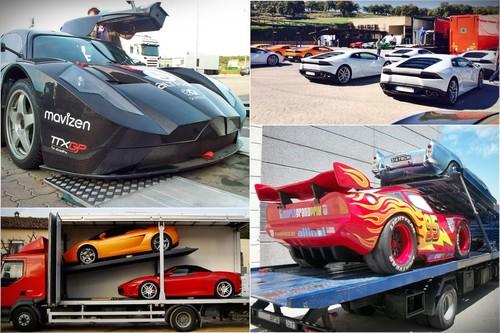 Un viaje de lujo. Así se transportan los coches más caros del mundo