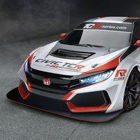 Así de brutal es el nuevo Honda Civic Type R TCR del equipo italiano JAS Motorsport