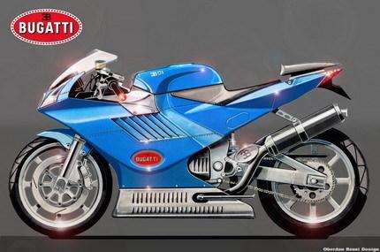 ¿Cómo sería una moto hecha por Audi o Bugatti?