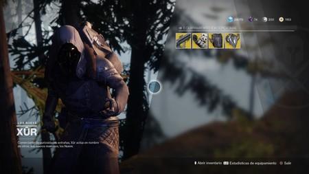 Destiny 2: ubicación de Xur y equipamiento (del 3 al 7 de noviembre)