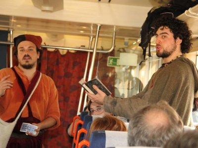 Arrancan los nuevos viajes al medievo con el Tren turístico de Sigüenza