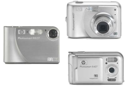 R827, M627 y E427, otras 3 Photosmart de HP