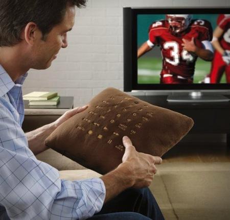 Mando distancia para tele en forma de cojín