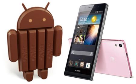 Huawei quiere ir a la última: Huawei Ascend P6 recibirá Android 4.4