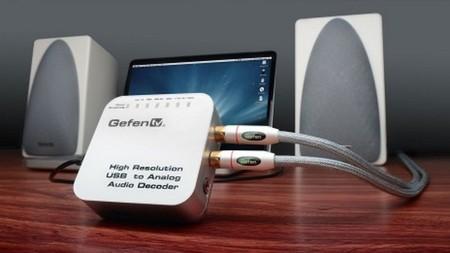 GefenTV, DAC de alta resolución para nuestros ordenadores