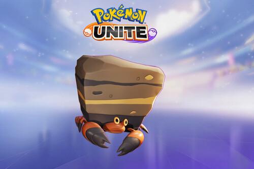 Guía de Crustle en Pokémon Unite: un tanque con un daño muy decente