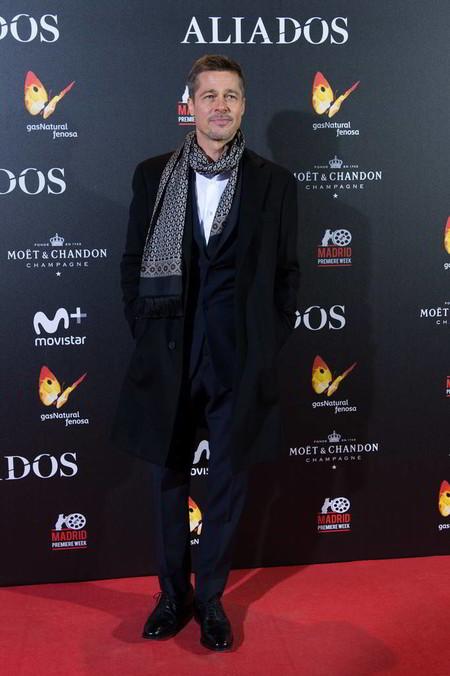Brad Pitt Allied Aliados Premiere Espana Trendencias Hombre 02