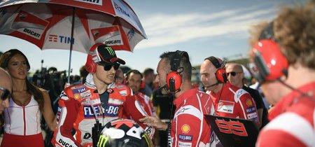 Jorge Lorenzo finaliza quinto en el Gran Premio de Gran Bretaña de MotoGP tras su lucha con Pedrosa y Zarco