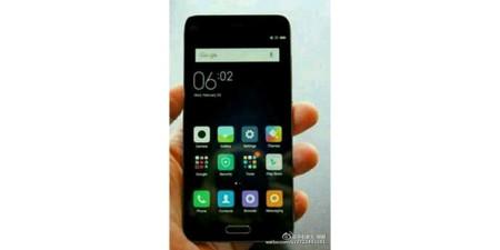 Imagen filtrada de un Xiaomi Mi de 4.3 pulgadas