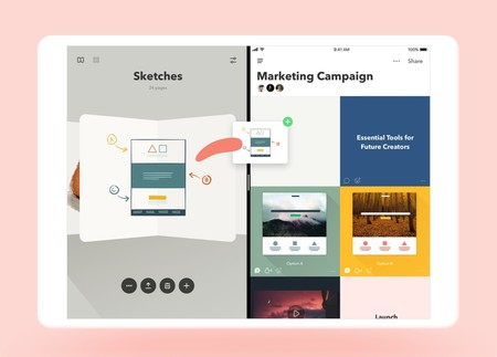 Paste, la nueva app de los desarrolladores FiftyThree para iOS