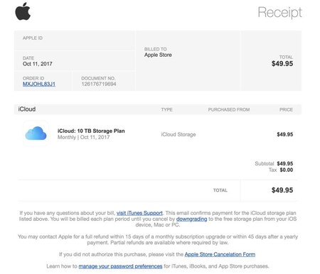 iTunes Phishing