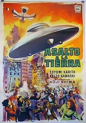 Ciencia-ficción: 'Asalto a la Tierra' de Koji Shima
