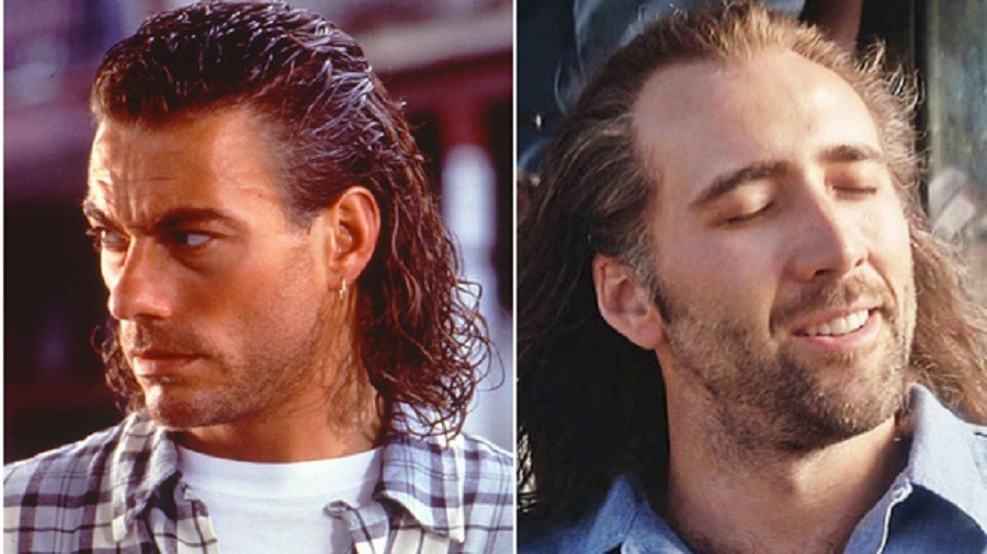 Hair and movies: the cinema of Nicolas Cage and Jean-Claude Van Damme via capillary