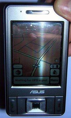 Asus P535, PDA, teléfono y GPS