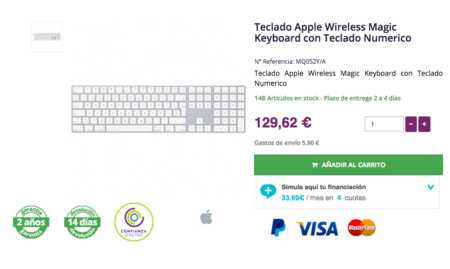 Apple Teclado