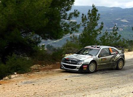 Petter Solberg se montará hoy en el C4 WRC