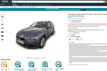 Bmw Serie 3 Renting Amazon
