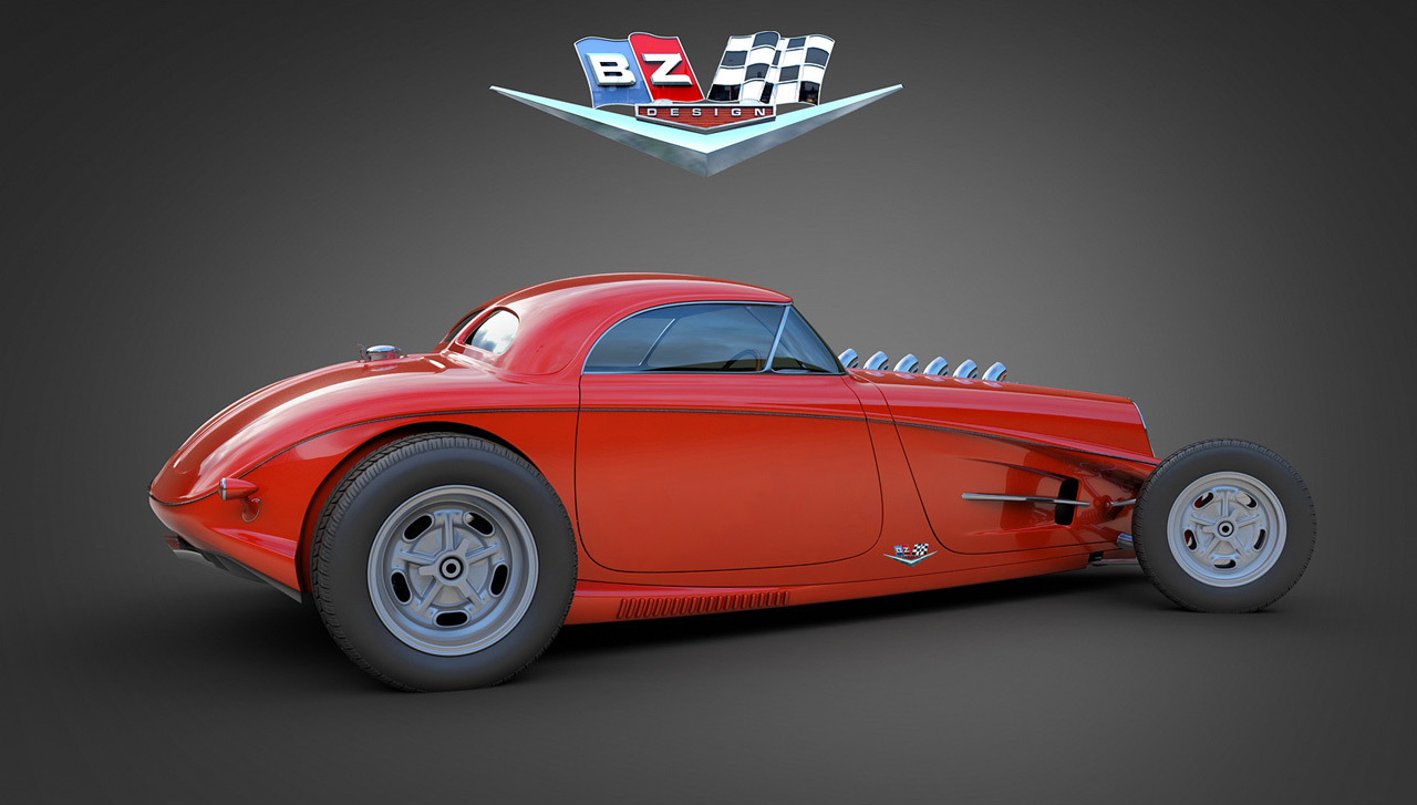 Foto de Vizualtech '33 Bomber Style Rod Design (1/7)